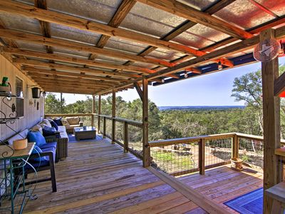 Photo for NEW! Private Hill Country House w/Deck on 7 Acres!