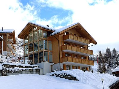 Photo for 2 bedroom Apartment, sleeps 5 in Wengen with WiFi