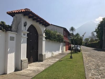 Photo for Great house with volcanic views with all the essence of Antigua Guatemala!