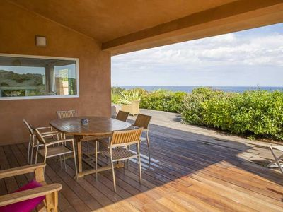Photo for Luxury villa 205m² extraordinary sea view