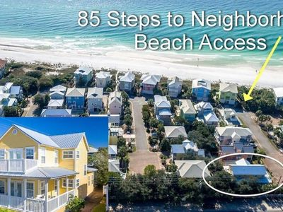 Photo for New 30A Beach Rental - Steps to Private Beach!