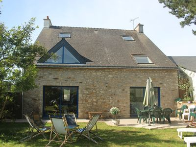 Photo for House in Port Blanc in the Gulf of Morbihan
