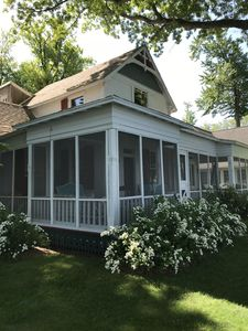 Photo for Historic Summer Home on Beautiful Lake Maxinkuckee's East Shore