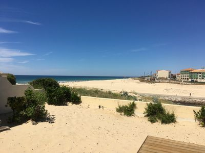 Photo for House for 8 on the dune above the South Beach: direct ocean and current view