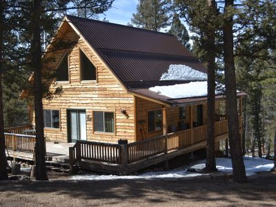 Photo for Rustic mountain cabin located near prime fishing, hunting and ATV trails.