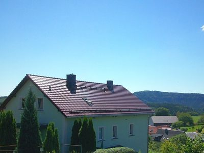 Photo for Holiday home in Saxon Switzerland with mountain view, terrace and garden