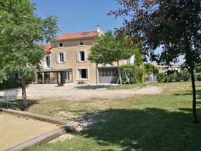 Photo for Mas du Palladau in Provence with swimming pool for 18 people, ideal for family or friends