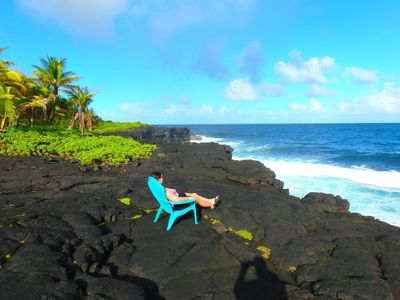 Photo for Live the Ocean Front Dream - Perfect location for exploring the Big Island 🌴
