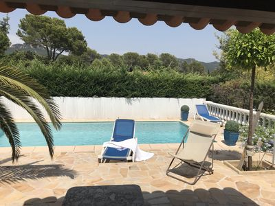 Photo for For rent on the French Riviera, charming holiday villa with private pool,