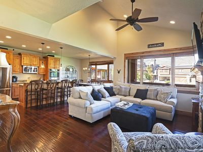 Photo for Large Townhome - DV Skiing Access - B/New Hot Tub!
