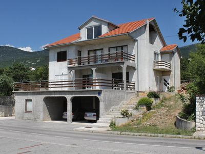 Photo for Two bedroom apartment with terrace and sea view Klenovica, Novi Vinodolski (A-5581-a)