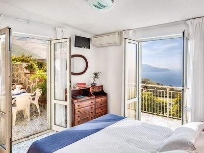 Photo for Villa Blue - Breathtaking view of Capri and the Gulf of Naples