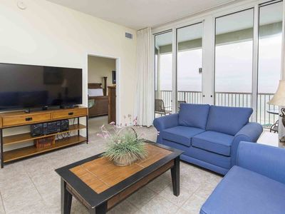 Photo for Beachfront Condo with Private Balcony. Master Bedroom with Views!