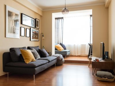 Photo for Travellers Home apartment in Figueira da Foz with WiFi & lift.