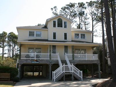 Photo for Corolla Light Resort - 5 Bedroom House - Private Pool and Easy Walk to Beach