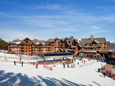 Photo for Breckenridge Ski-In/Ski-Out Spring Break Week Mar. 5-12 & Mar. 26-Apr. 2, 2017