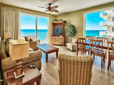 Photo for Spacious 11th Floor Gulf View Splash Condo, Family Favorite