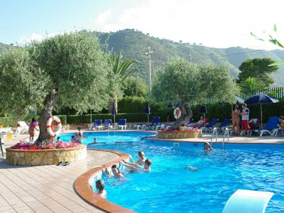 Photo for Fontana Barone Villa 7 - Semi-detached Villa with Swimming Pool, 600 Meters from a Sandy Beach ! - Free WiFi
