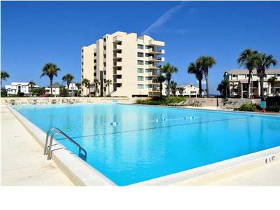 Photo for Grant's Santa  Rosa  Dunes Luxury End Unit Gulf & Bay Views  from Every Room.