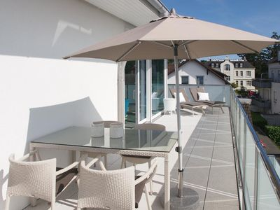 Photo for Exclusive penthouse, top equipped with three roof terraces in a prime, quiet location, just a few meters from the center, the beach and the promenade.