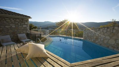 Photo for Beautifully restored traditional Greek house with Private swimming pool