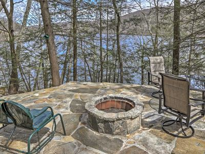 Photo for Lakefront New Preston Cottage w/Dock & Fire Pit!