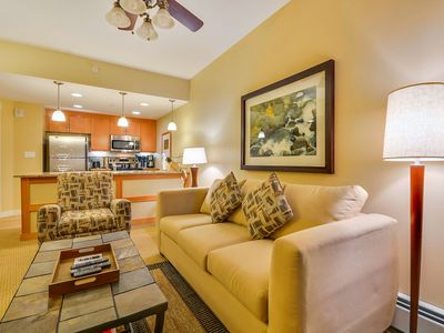 Photo for Base Village Ski In/Out Luxury Condo - Fantastic Views/FREE Activities Daily/Pool Sized Hot Tub/No Deposit/Resort Discounts/FREE WiFi/Premier Building Location/Concierge Services