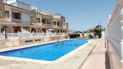 Photo for Apartment Orange with seaview 900m to the beach on Orihuela Costa Blanca