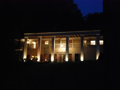 Photo for Secluded Southern Charm on the lake - 5 bedrooms