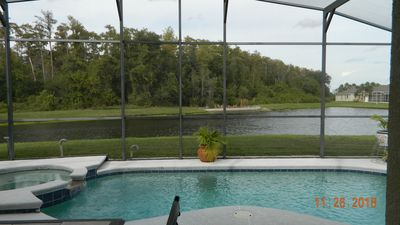 Photo for Beautiful Lakefront 4 Bed 3 Bath Pool/Spa Home