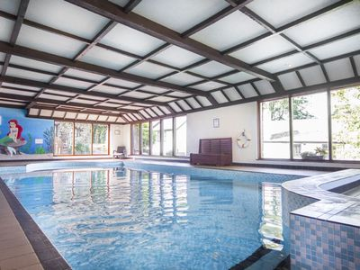 Photo for Four star cottage in glorious Devon countryside, indoor pool, sauna, WiFi