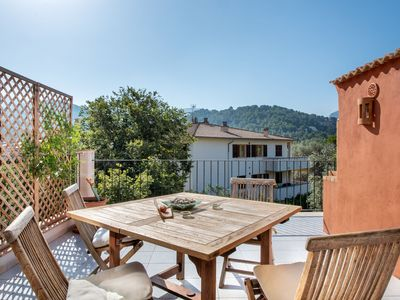 Photo for Apartment Carla Close to Beach with Large Balcony, Mountain View, Wi-Fi & Air Conditioning