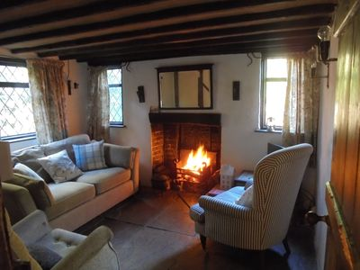 Photo for Cosy Point Cottage, Ticehurst, East Sussex 2 Double Bedrooms