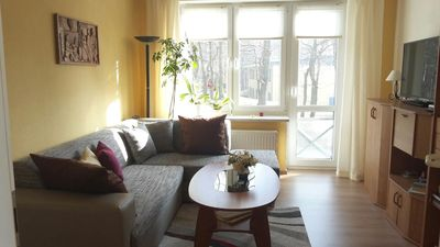 Photo for Quiet vacation apartment in the Baltic Sea resort of Zinnowitz by the beach