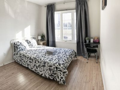 Photo for Two bedrooms with ensuite bathroom & parking at YorkU. Walk to subway stn.
