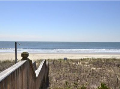 "Photo for Welcome to ""A Million Dollar View"", ocean front on the peaceful and convenient East End of Holden Beach."