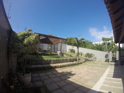 Photo for Beach house overlooking the sea Lagoon and woods, super ventilated