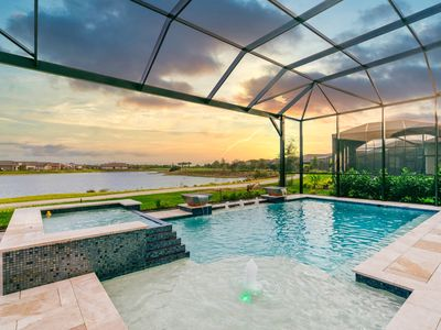 Photo for Luxury Home, Resort Living, Golf/Tennis/Pickle ball, Private Pool/Spa, Fireplace