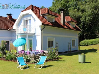 Photo for Rental - Ferienwohnung am Wörthersee Villa Waldbach