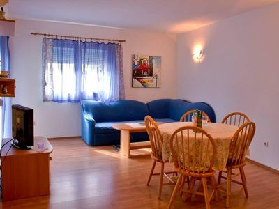 Photo for Two bedroom apartment with balcony Petrčane, Zadar (A-17770-b)