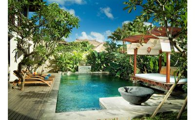 Photo for 3 BR Villa with Infinity Private Pool+jungle & Garden view+kitchen+ in Jimbaran