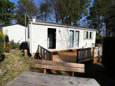 Photo for Camping Le Pré des Moines *** - Mobil Home Lavender 3 Rooms 2 People Air-conditioned