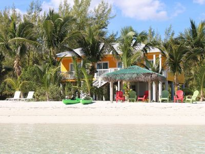 Photo for Private Luxurious Beachfront Home, HOT TUB, Kayaks, Paddle Board & Boat