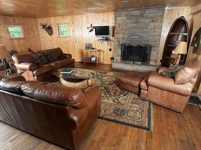 Photo for Family and Pet friendly, Lodge makes great location for events.