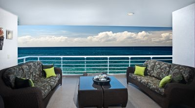 Photo for Nah Ha  701, Stunning Oceanfront 3 bdrm condo, North Shore, Great Snorkeling!