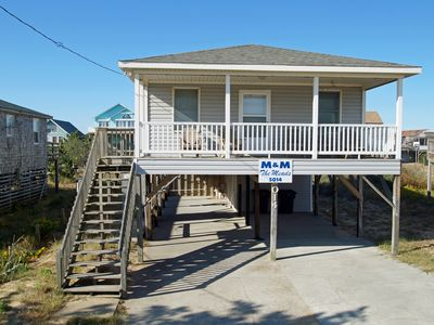 Photo for SEMI-OCEANFRONT, 3 bedrooms, 1.5 baths, Ocean Views and Pet Friendly!