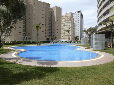 Photo for Holiday rental apartment located in Calpe (Costa Blanca) for up to 6 people. Recently constructed apartment, placed close to the sandy beach Arenal-Bol and also to the center of Calpe.