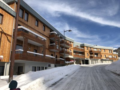 Photo for New apartment T3 + Alcove, 8 people, LES LODGES, PLAGNE CENTER