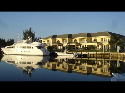 Photo for Scarborough Villas #2 · Luxurious Villa - Deepwater Channel - Docks & Pool