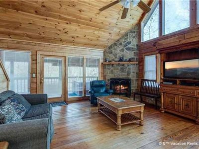 Photo for Lovely 3bed/3ba Cabin: <3 of Smokies